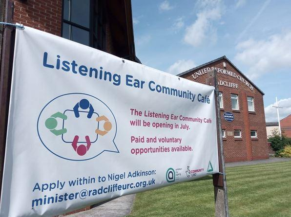 Listening Ear Community Café is due to open at Radcliffe United Reformed Church next month
