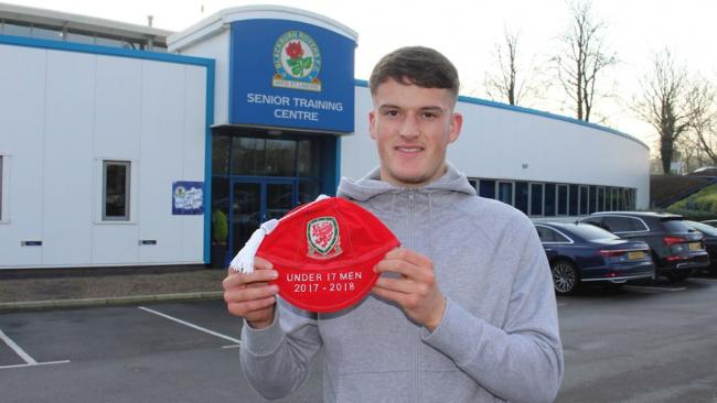 Rovers attacker Jack Vale has been capped by Wales at youth level