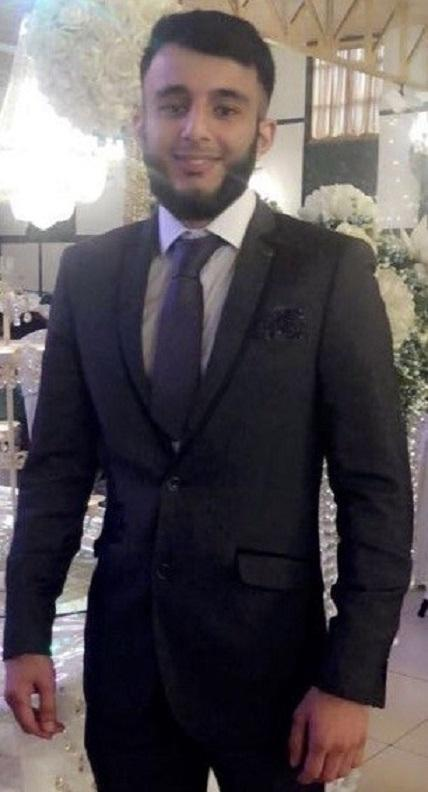 Yasir Khan, who lost his life in a crash on Colne Road, Burnley, in September 2018