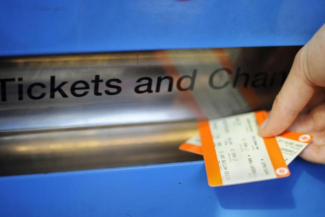 Rail fare increases will be implemented from January 2 (Lauren Hurley/PA)
