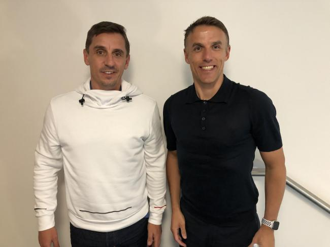 Gary Neville and Phil Neville