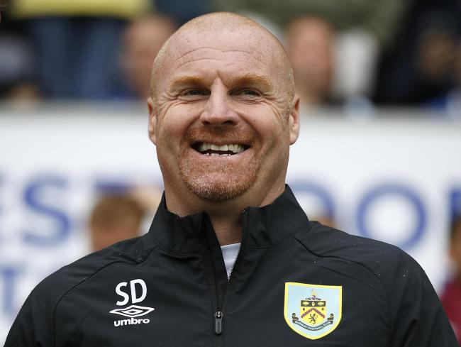 Burnley manager Sean Dyche, during the pre-season friendly match at the DW Stadium, Wigan.