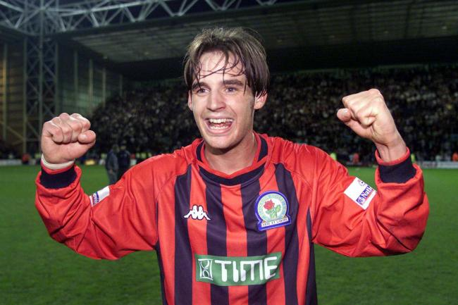 Matt Jansen scored the goal which secured Rovers' promotion back to the Premier League