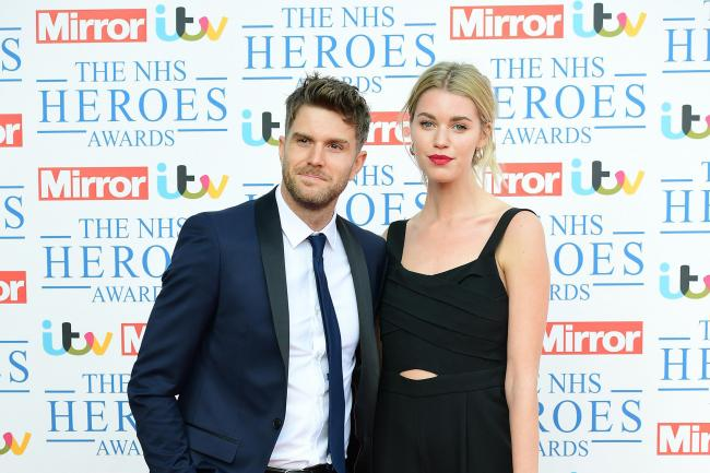 Joel Dommett and Hannah Cooper