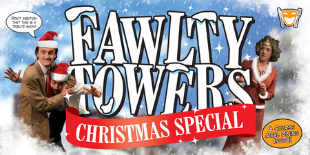 Fawlty Towers Chrismas Comedy Dinner Show Carlton Hotel Blackpool 29/11/19