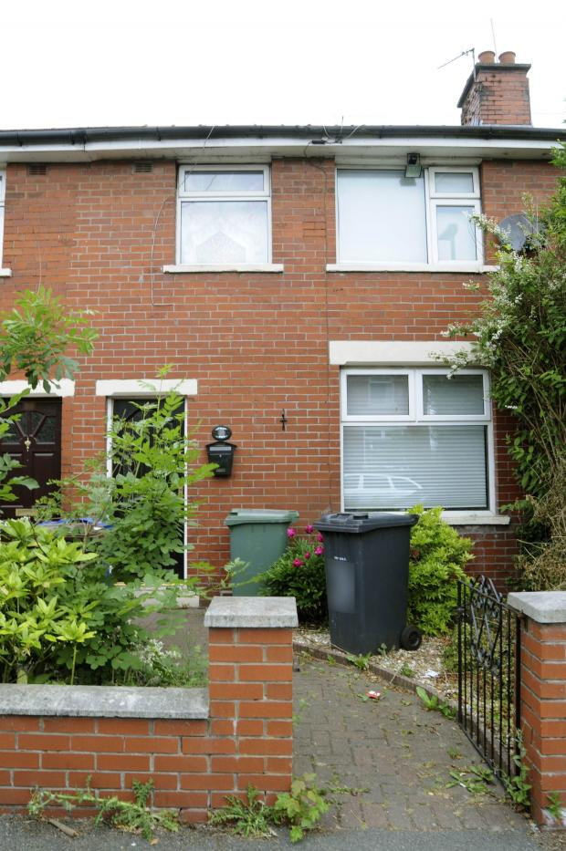 This Is Lancashire: Hisham Muhammad's home in Victoria Avenue, Whitefield