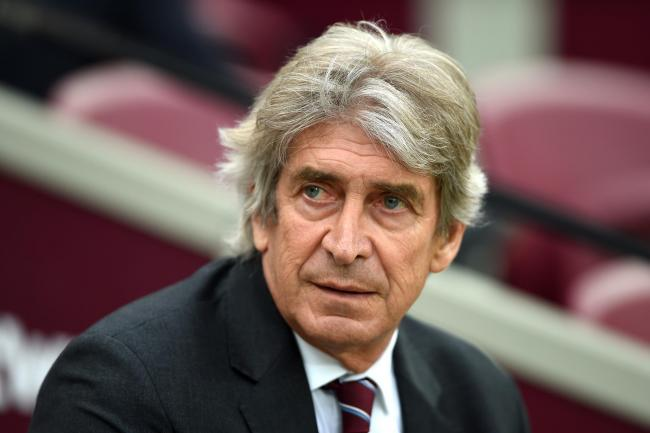 West Ham manager Manuel Pellegrini wants his side to play the same way as Manchester United when the sides meet on Sunday