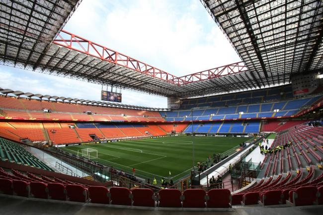The San Siro will stage this season's first Milan derby on Saturday night.