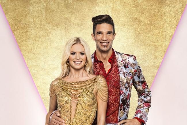 David James with his dance partner Nadiya Bychkova