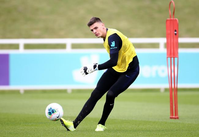 Nick Pope is back in the England squad