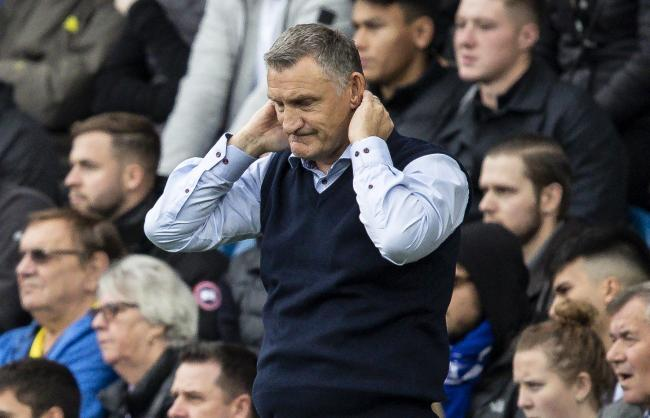 Tony Mowbray cuts a dejected figure at QPR
