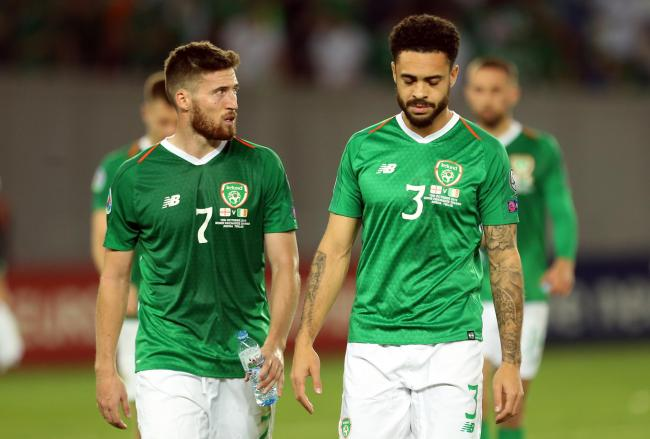 Derrick Williams made his competitive debut for Republic of Ireland last month