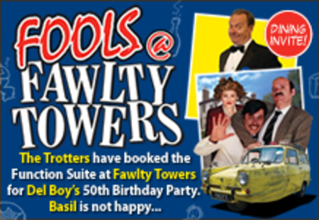 Fools @ Fawlty Towers Lancaster 01/02/2020
