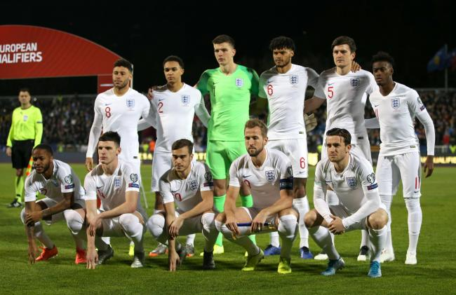 Nick Pope lines up with England in Kosovo