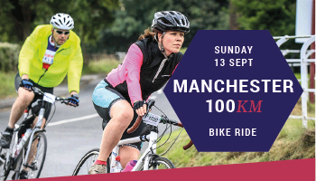 Manchester 100 charity cycle ride