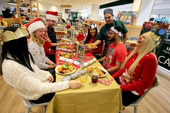 You can now hold your Christmas party at the Morrisons Cafe