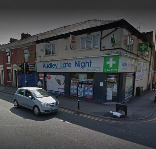 Medicspot is already available in Audley Late Night Pharmacy in Blackburn
