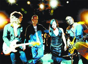 PLAY IT AGAIN: N'Dea Davenport in the second incarnation of The Brand New Heavies