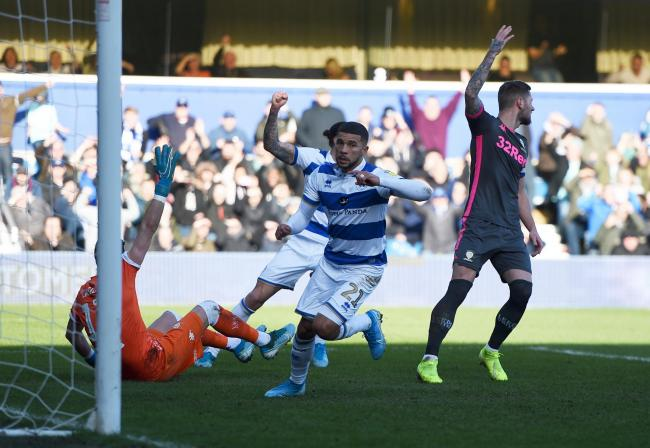 Burnley loanee Nahki Wells scored QPR's winner against Leeds United last weekend