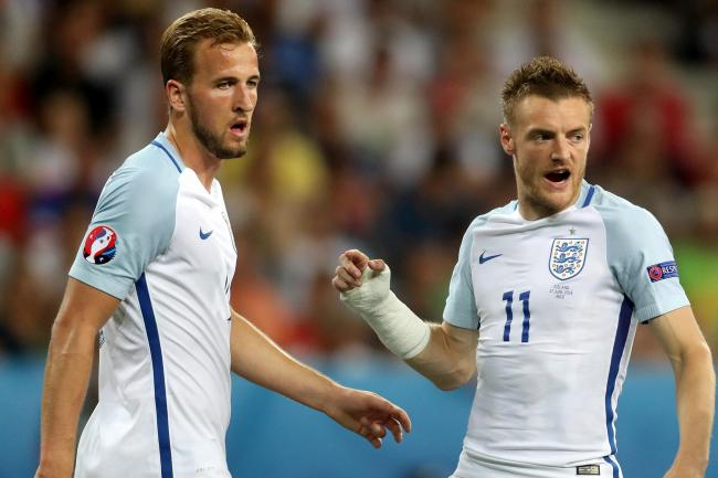 Harry Kane and Jamie Vardy have been busy at home