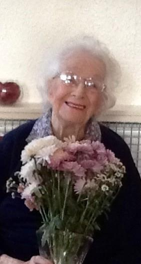 Mary Berry, who has just celebrated her 104 birthday at Spennymoor care home