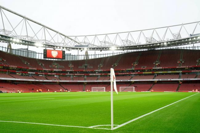 Arsenal took on Charlton at the Emirates
