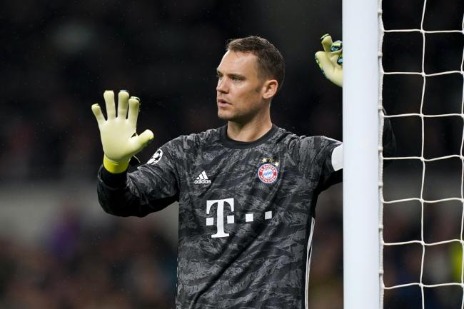 Bayern Munich captain Manuel Neuer was pleased with his side's response to falling behind (John Walton/PA)