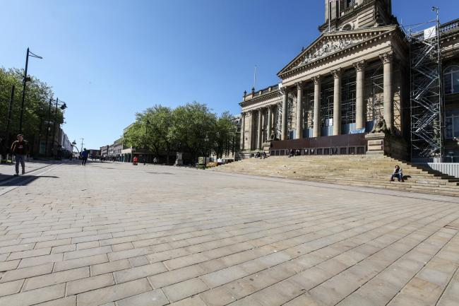 DESERTED: Most businesses were forced to close their doors for months, leaving them unable to pay their staffs' wages