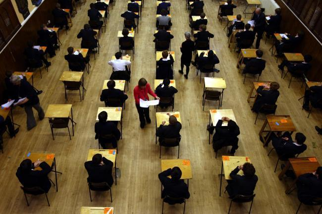 Exam results: What is the Government's 'triple lock' solution for school leavers across England? (Archive photo)