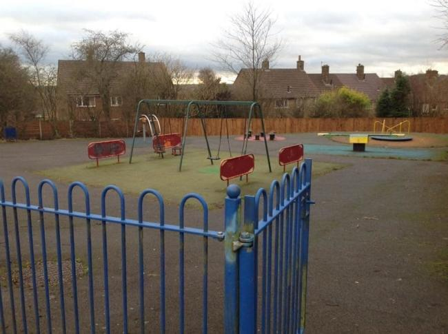 DULL: Work will begin on the children's play area on Stonesteads Drive, near Eagley Infants
