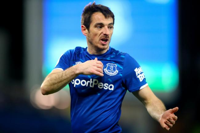 Leighton Baines' Everton contract expires at the end of the season