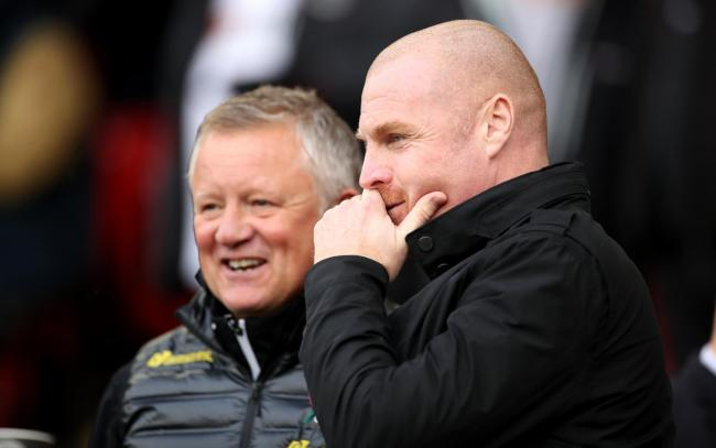 Chris Wilder and Sean Dyche