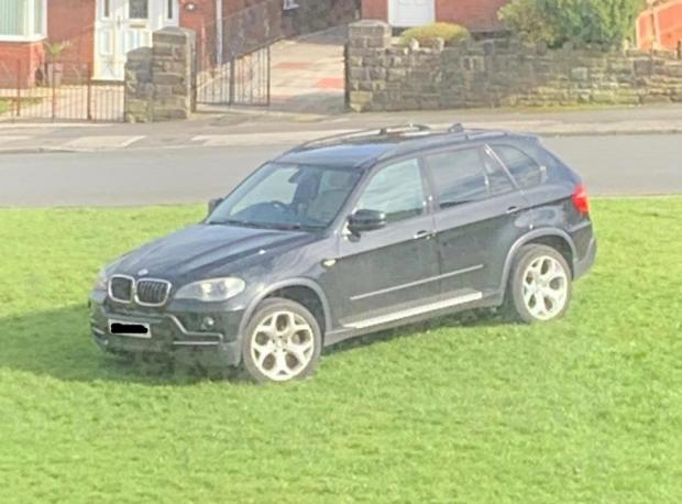This Is Lancashire: Or just don't park on the road at all in Morris Green