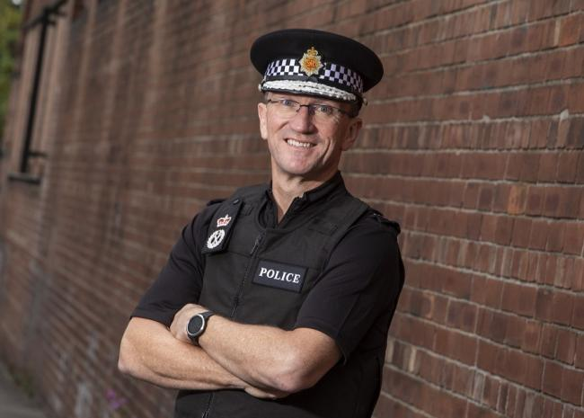 Ian Hopkins QPM..Chief Constable of Greater Manchester Police.