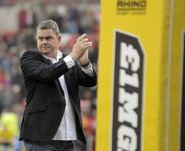 Leigh Centurions owner Derek Beaumont. Picture: Mike Boden