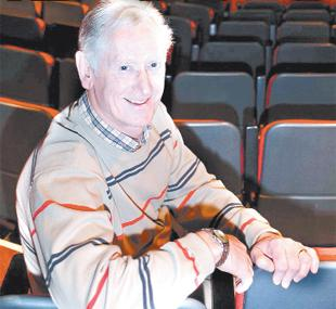 WARMTH: Fundraising director Michael Berry in the refurbished theatre