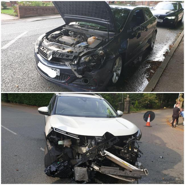 Road traffic collision in Smithalls Dean Road on September 15