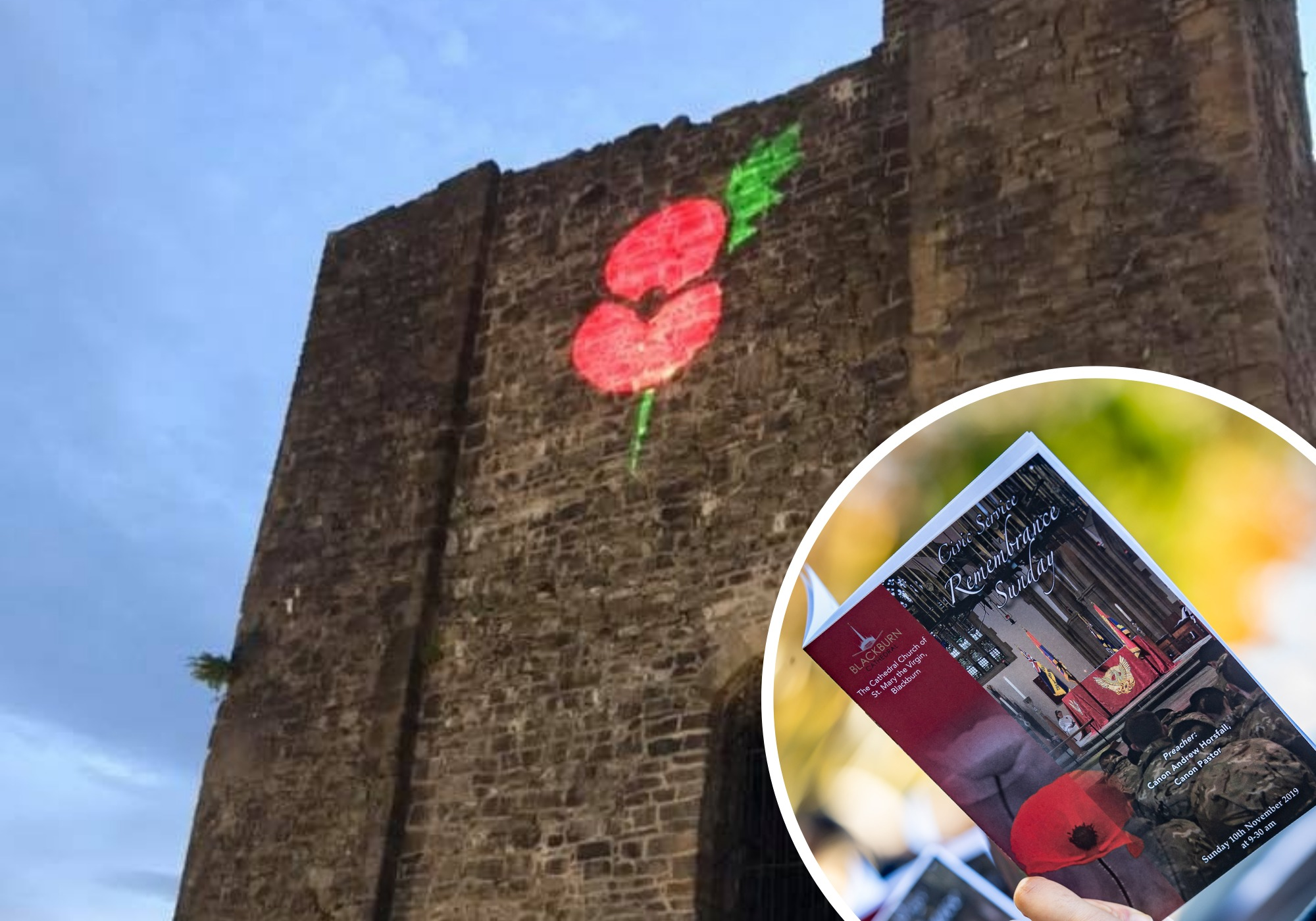Councils urge East Lancashire residents to pay tribute in a safe way on Remembrance Sunday