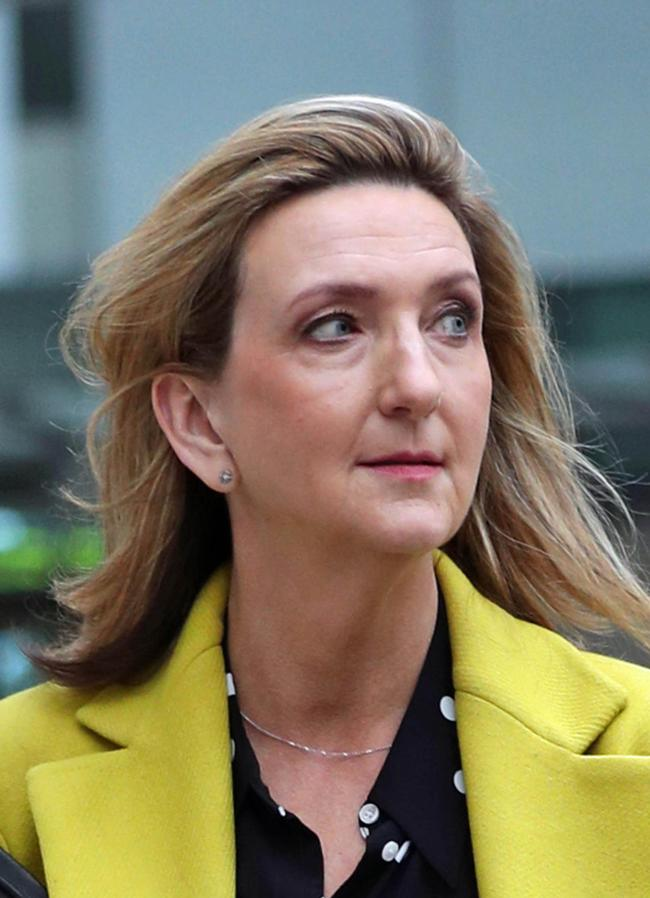 File photo dated 23/01/20 of Victoria Derbyshire who has said she faced some