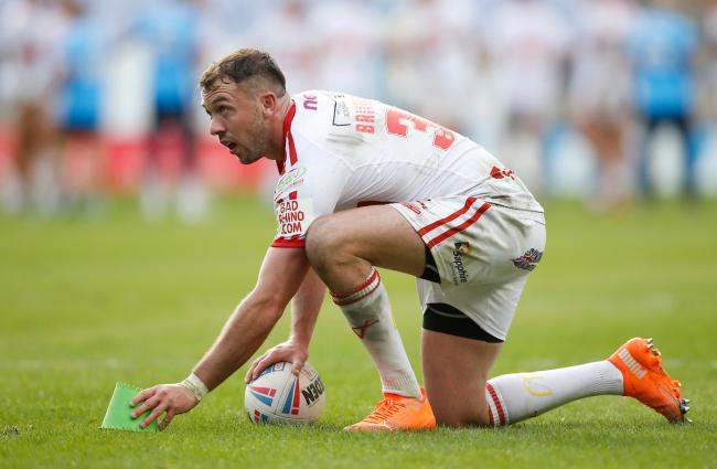 Ryan Brierley playing for Hull KR this season. Picture: SWpix.com