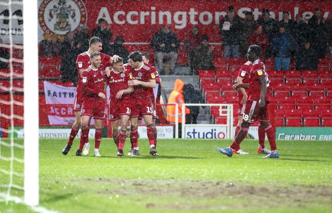 Accrington Stanley won a seven-goal thriller with Lincoln in February