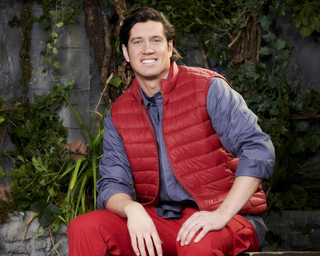 Vernon Kay on I'm A Celebrity... Get me Out Of Here! (Picture credit: ©ITV)