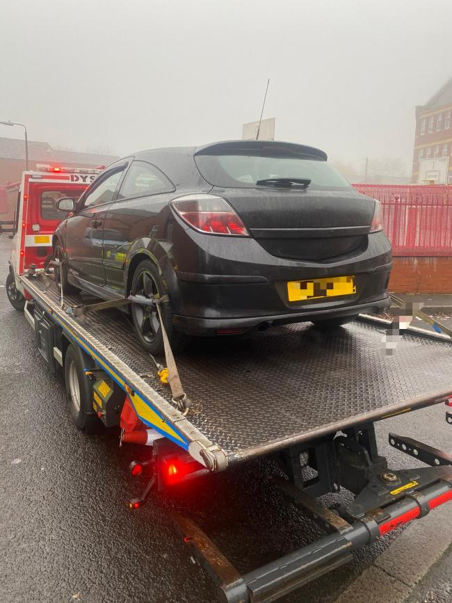 This Astra was stopped on Brandwood Road