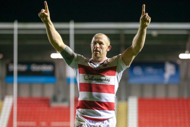 Hooker legend Micky Higham, when Leigh Centurions played in Super League in 2017. Picture: SWpix.com
