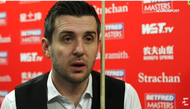 Selby opened up about the death of his father, David, when he was 16 ahead of embarking on his snooker career