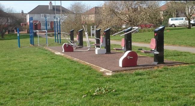 CONCERN: The outdoor gym at York Avenue, Shakerley