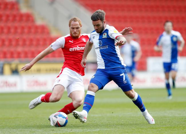 Adam Armstrong was on the scoresheet for Rovers once again at Rotherham United