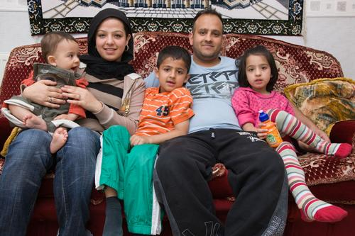 A Muslim foster family