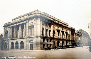 ROYAL ASSENT An early picture of King George's Hall