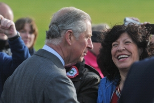 VISIT Prince Charles in Burnley today
